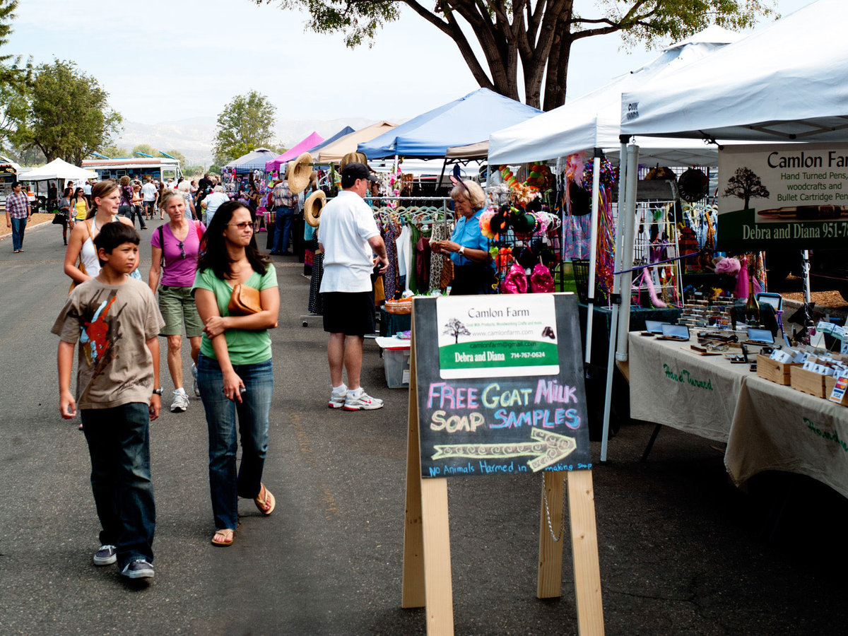 Irvine Great Park Farmers Market Food Trucks