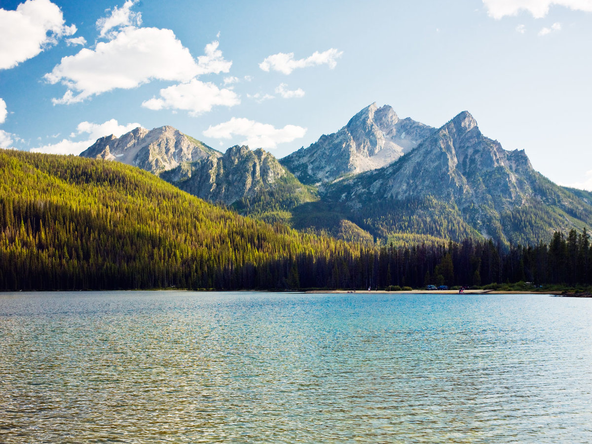 Stanley Lake and Sawtooth Mountains