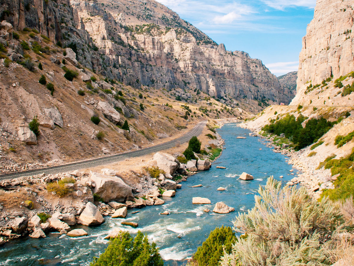 Wind River Canyon Whitewater Rafting & Fly Fishing