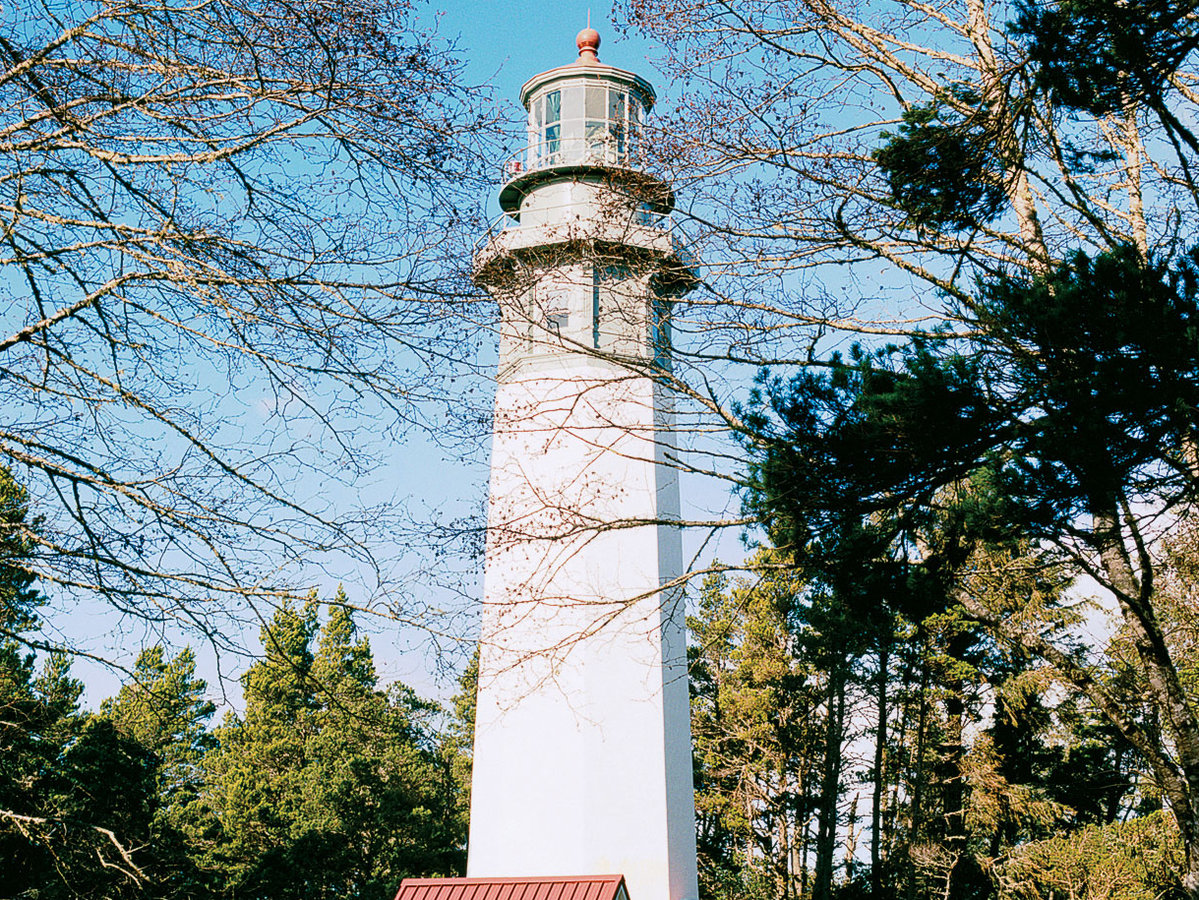 Grays Harbor Lighthouse in Newport, WA