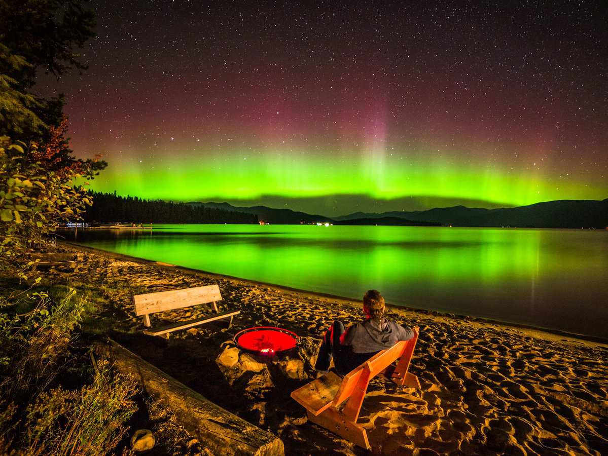 The aurora and the nature photographer