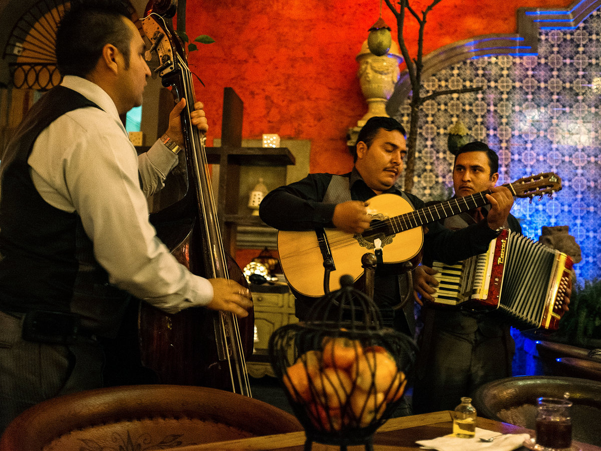 Mariachi music originated in Jalisco