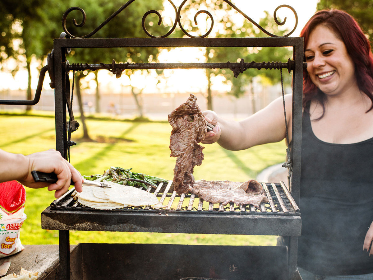 BBQ in the park
