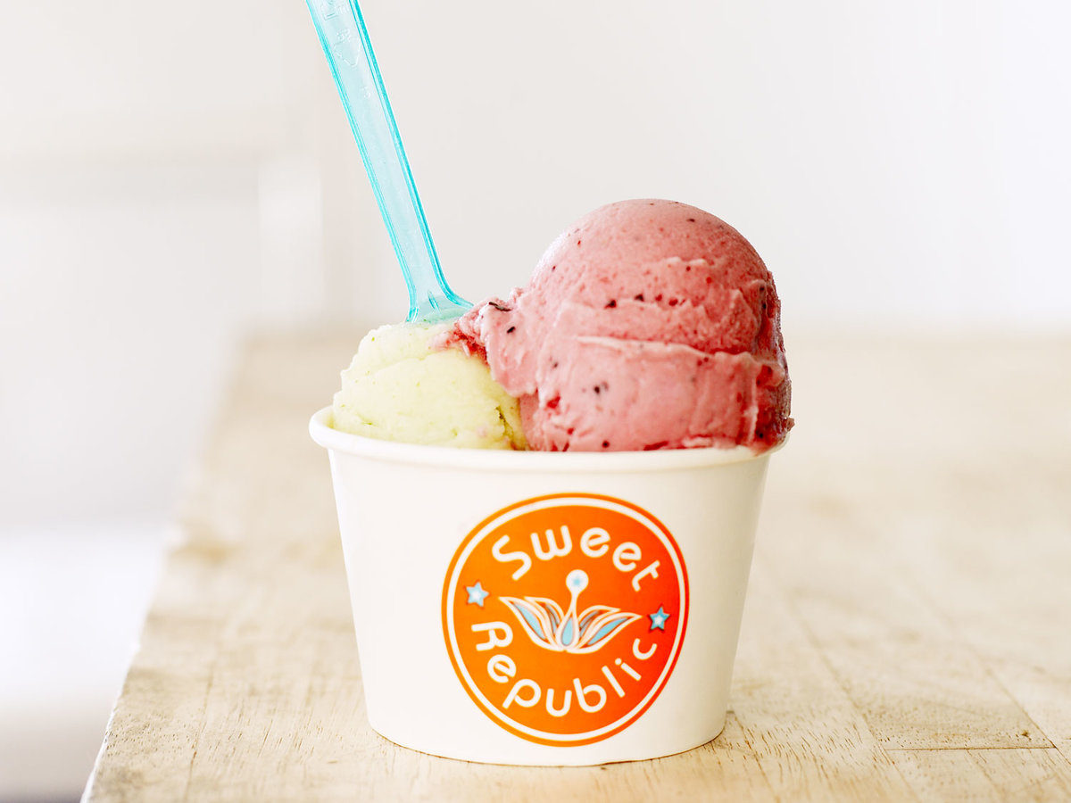 Sweet Republic ice cream cup