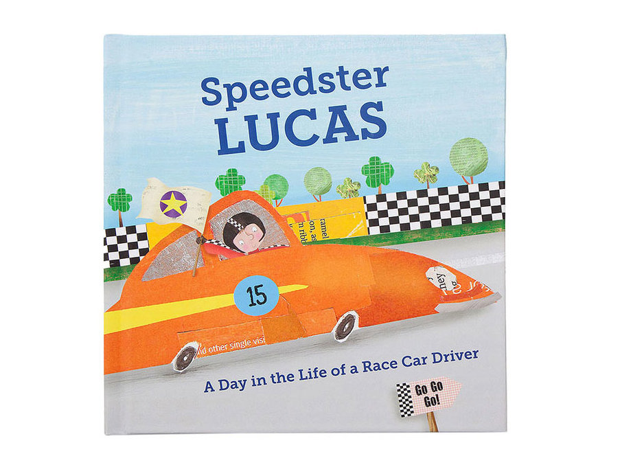 Personalized Speedster Book
