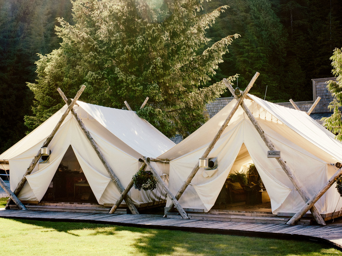 Clayoquot Wilderness Resort, Vancouver Island, B.C.