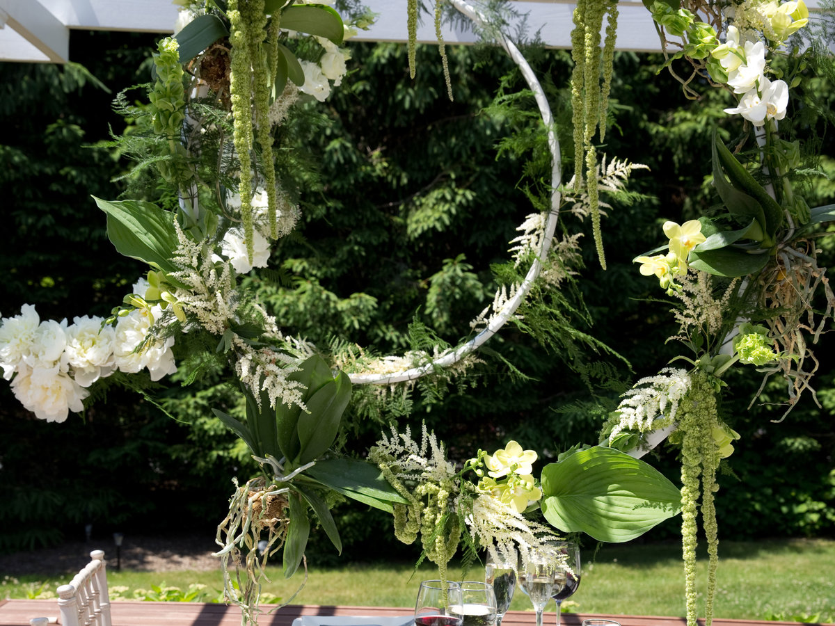 Hanging Greenery Floral Installation