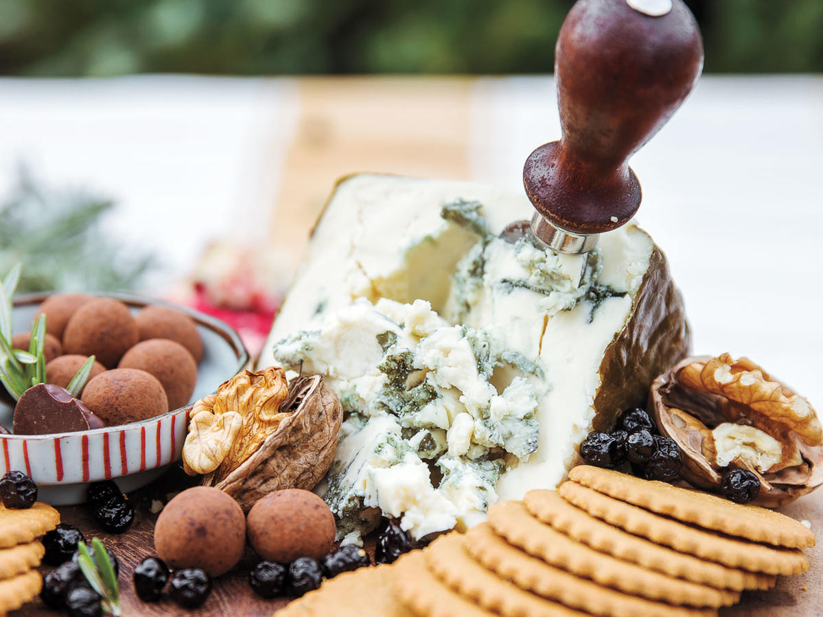 Blue Cheese Dessert