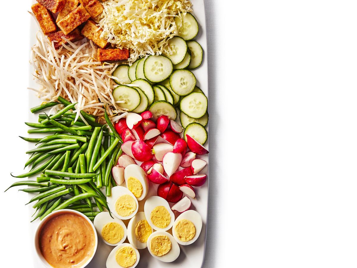 Indonesian Salad Gado Gado Recipe Sunset Magazine