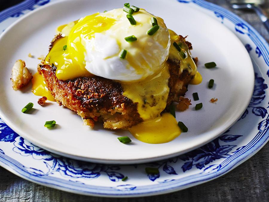 Crabcake Eggs Benedict Recipe Sunset Magazine