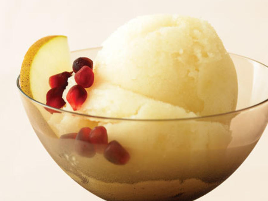 Pear Sorbet Images