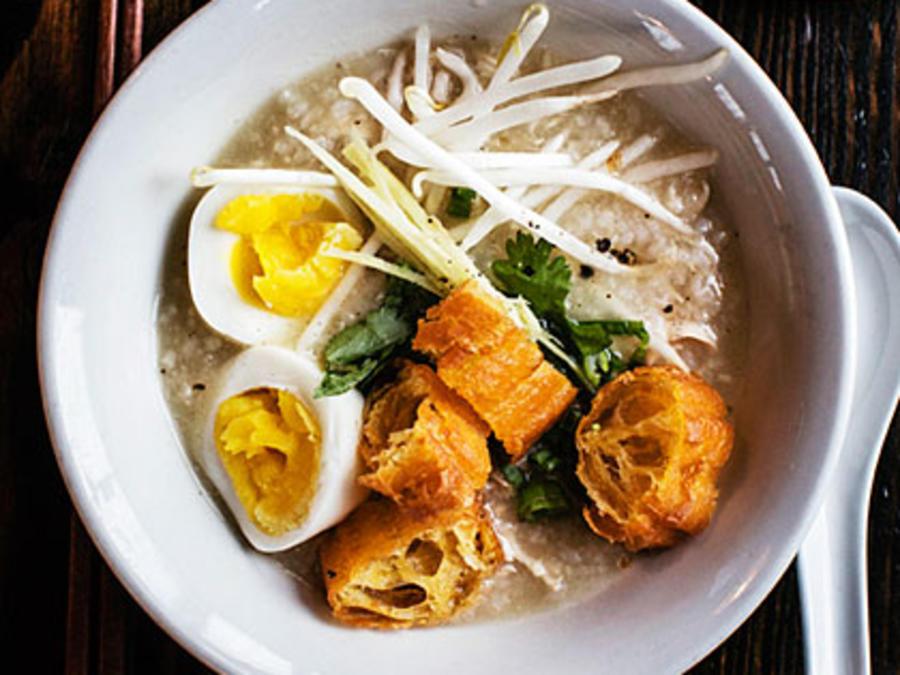 Chicken Congee Rice Porridge Recipe Sunset Magazine