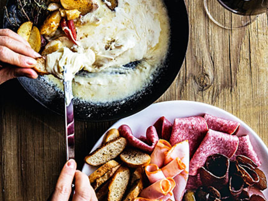 Raclette Melted Cheese Recipe Sunset Magazine
