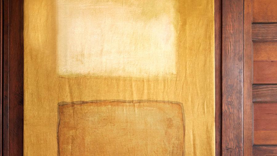 Rothko-inspired canvas