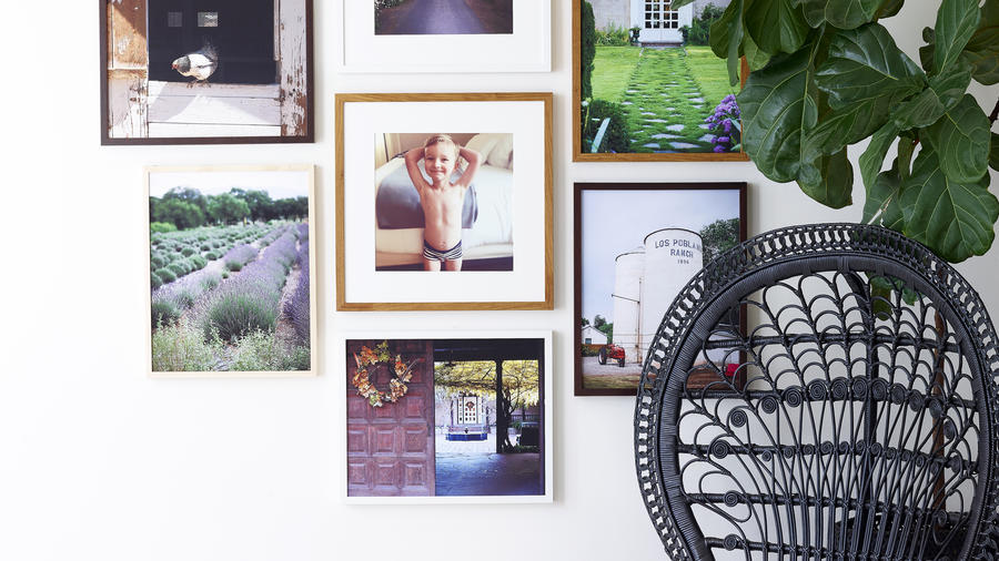 Simply Framed Gallery Wall