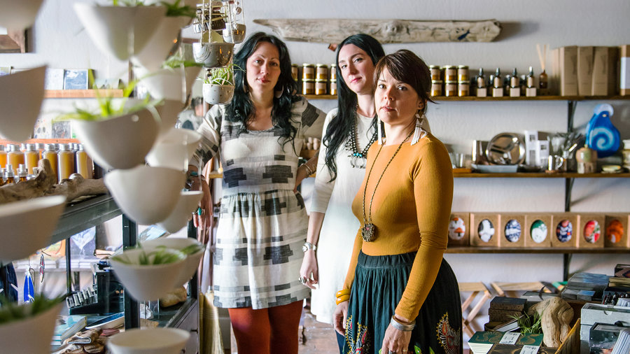 The Owners of Kitkitdizzi Boutique in Nevada City, California