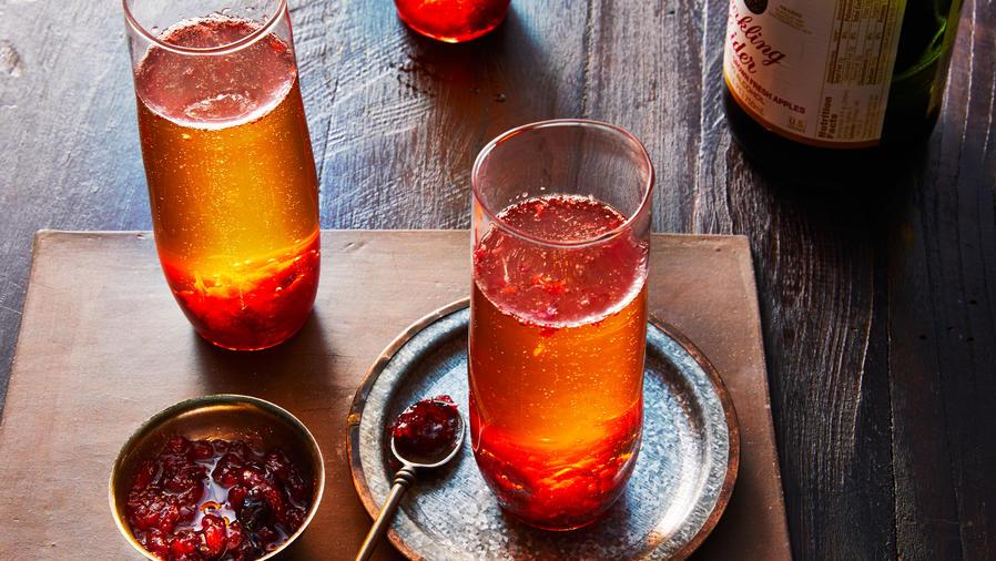 Winter Drinks: Christmas Kir