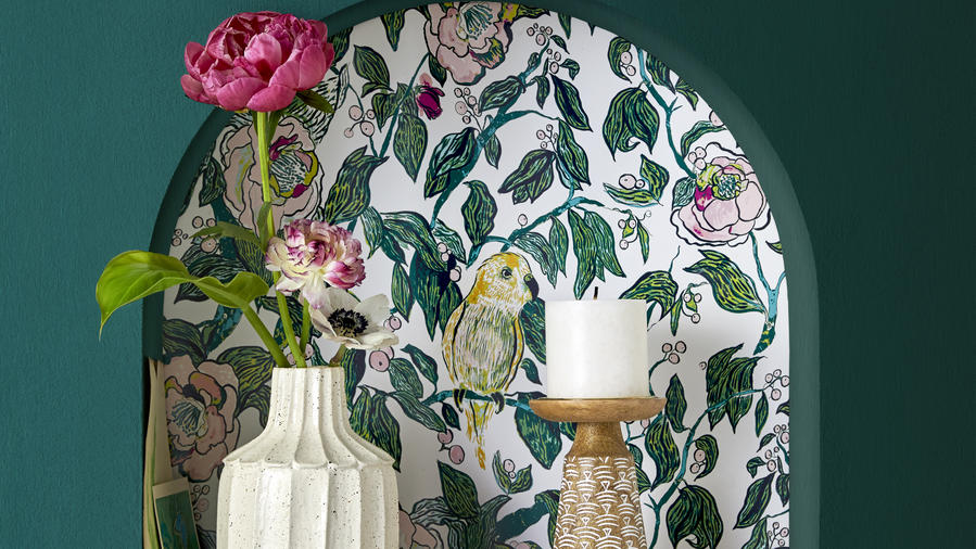 Wallpaper from Target's Opalhouse Decor Line