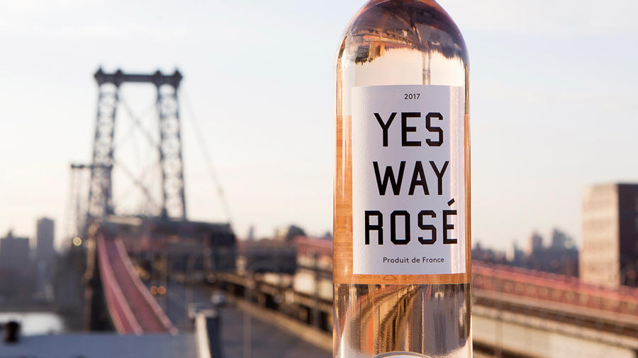 Yes Way Rosé Bottle
