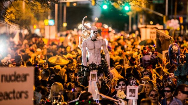 The Craziest Day Of The Dead Celebration In The West Sunset Magazine