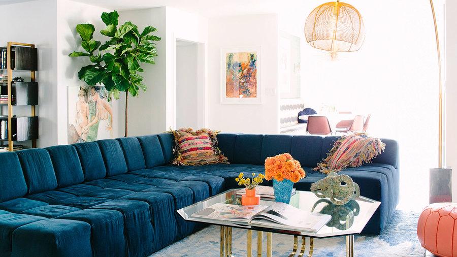 Stylish Modern Living Room Furniture Sunset Magazine
