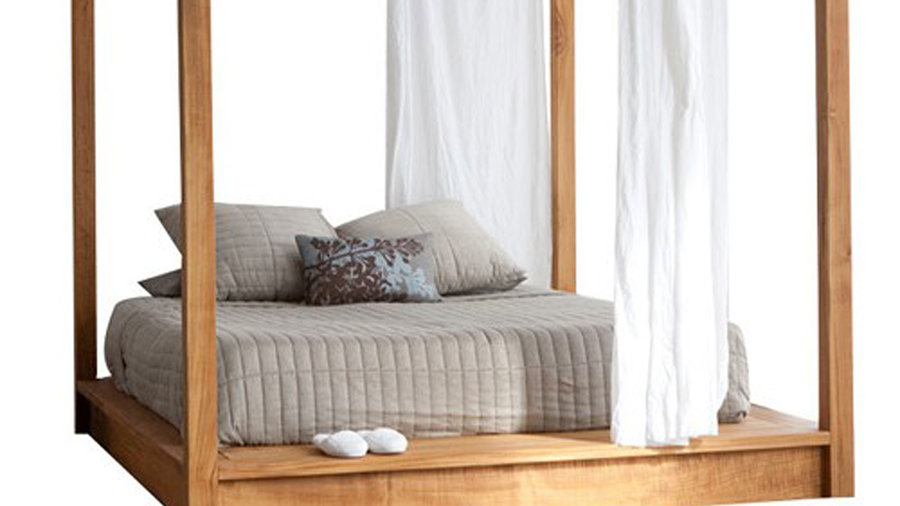 unique bed frames sunset magazine. Black Bedroom Furniture Sets. Home Design Ideas