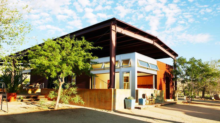 Cozy cabins at Rimrock Ranch in Pioneertown, California