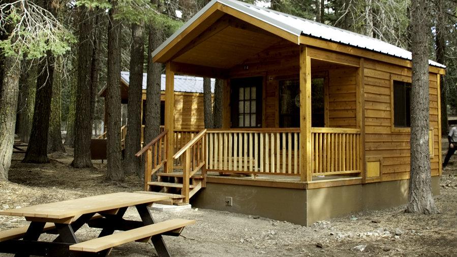 Manzanita Lake C&ing Cabins Lassen Volcanic National Park CA & 42 Best Cabin Getaways - Sunset Magazine - Sunset Magazine