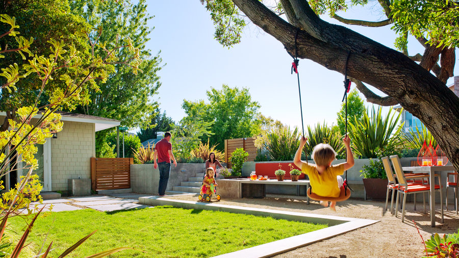 House Backyard Ideas amazing backyard ideas - sunset - sunset magazine