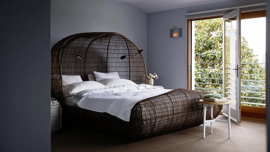 10 unique bed frames sunset magazine sunset magazine. Black Bedroom Furniture Sets. Home Design Ideas