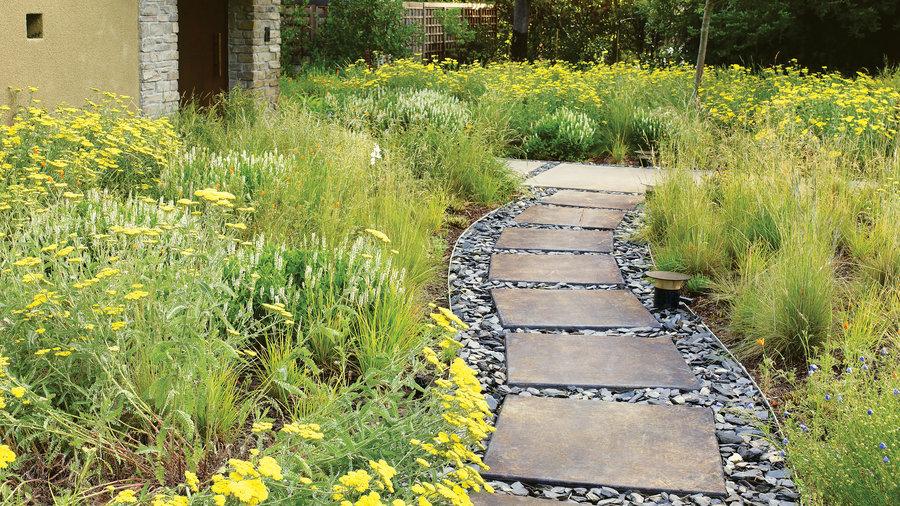 Landscaping Ideas With Stone Sunset Magazine