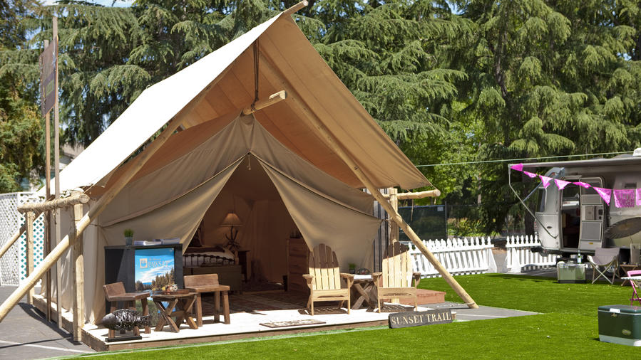Glam Camping Rethink The Pitched Tent Sunset Magazine