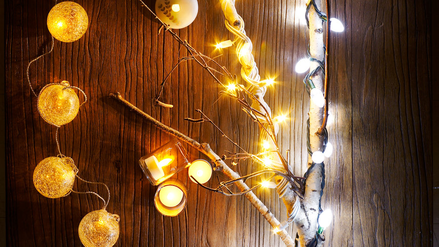 Energy-Saving Holiday Lights