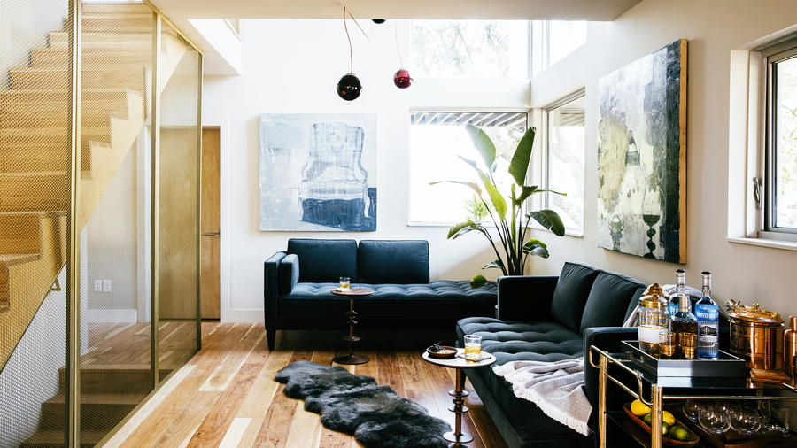 Living Room Style. Put Light into Motion 37 Living Room Style Tips  Sunset Magazine