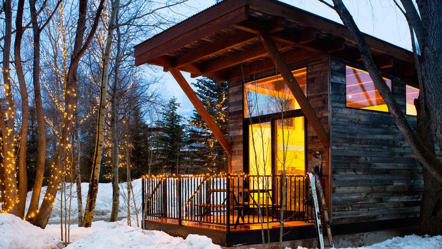 Cozy cabins near Jackson at Fireside Resort in Wilson, WY