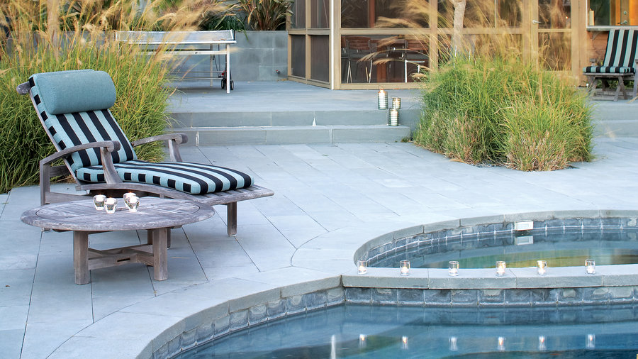 Wonderful Pool Finish Ideas For You To Copy: Landscaping Ideas With Stone