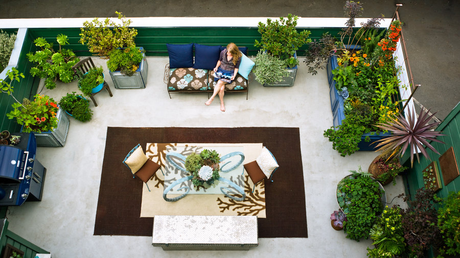 500-square-foot urban oasis