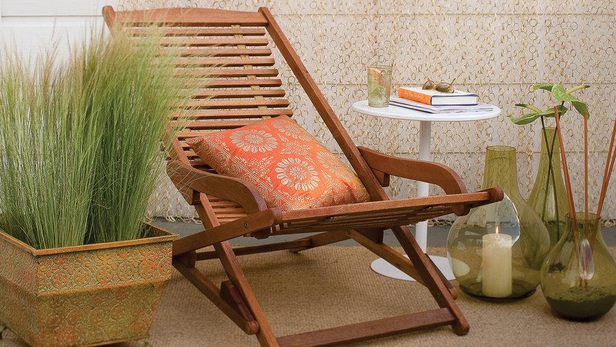 Super simple patio