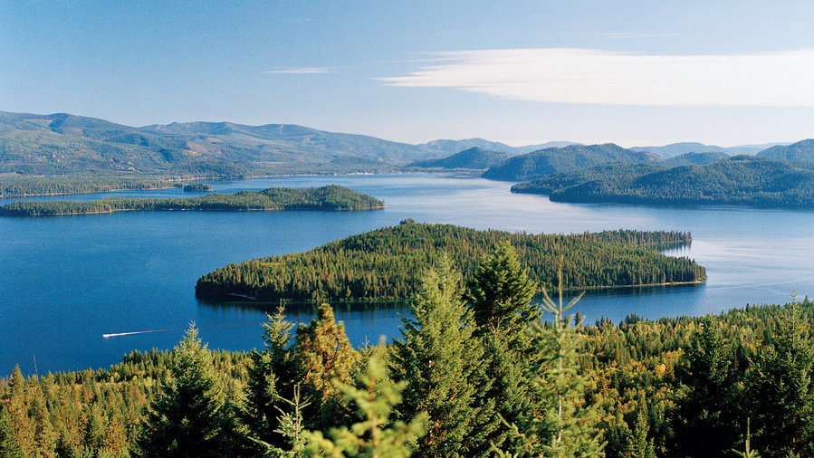 Pristine waters in Idaho's lake country