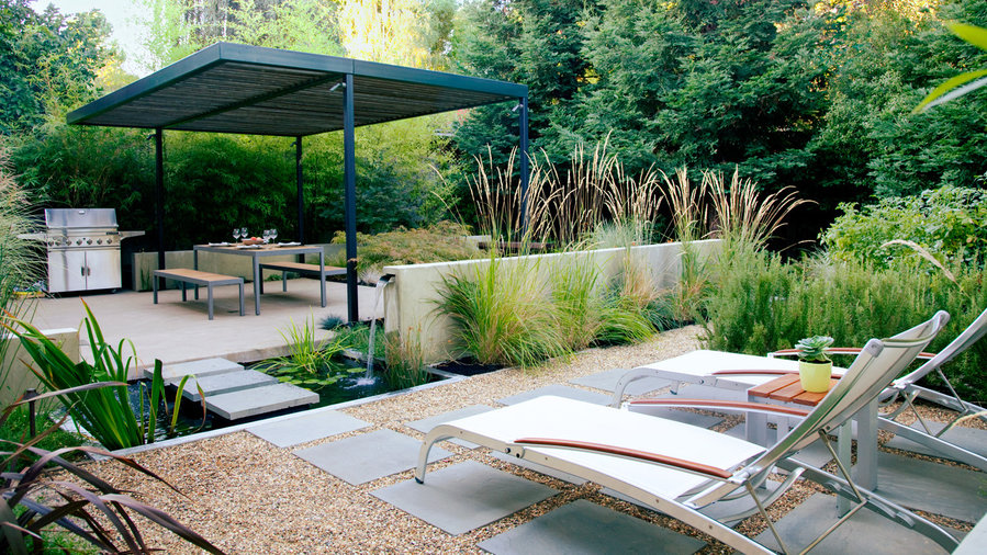 Outdoor Landscape Ideas For Small Spaces Part - 40: 4 Outdoor Rooms, 1 Small Space