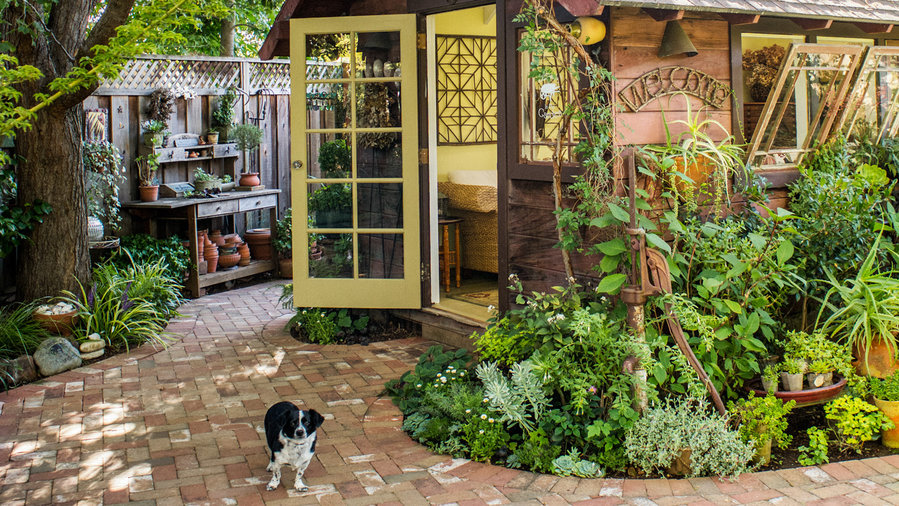 Garden Shed Makeover Sunset Magazine