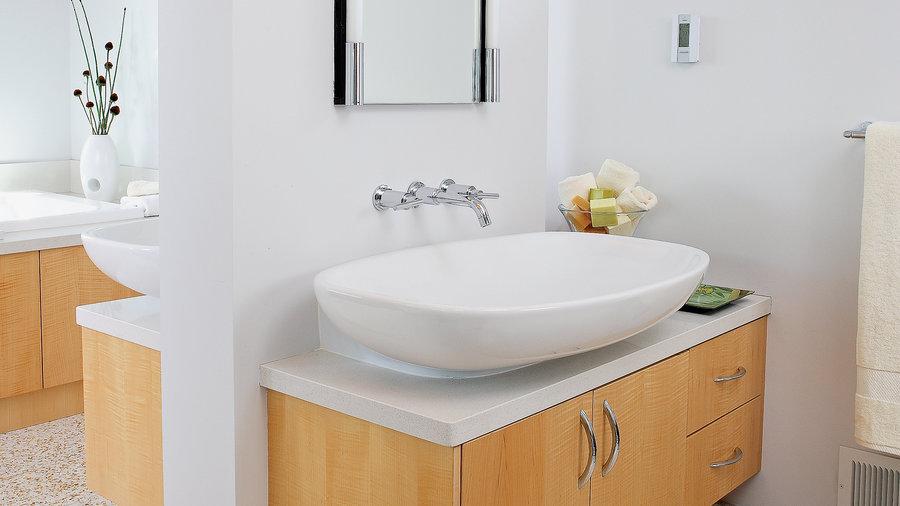Bathroom Vanity Counter Sink Ideas Sunset Magazine