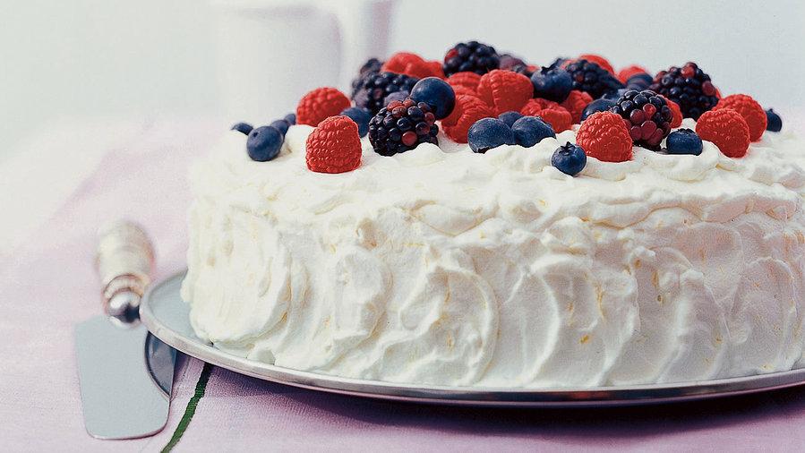 Berry-Lemon Cake