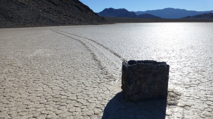 Death Valley sailing stones