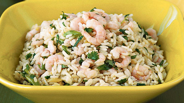 Spicy Thai Fried Rice with Shrimp