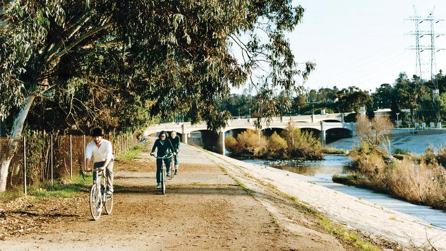 Explore the L.A. River's parks