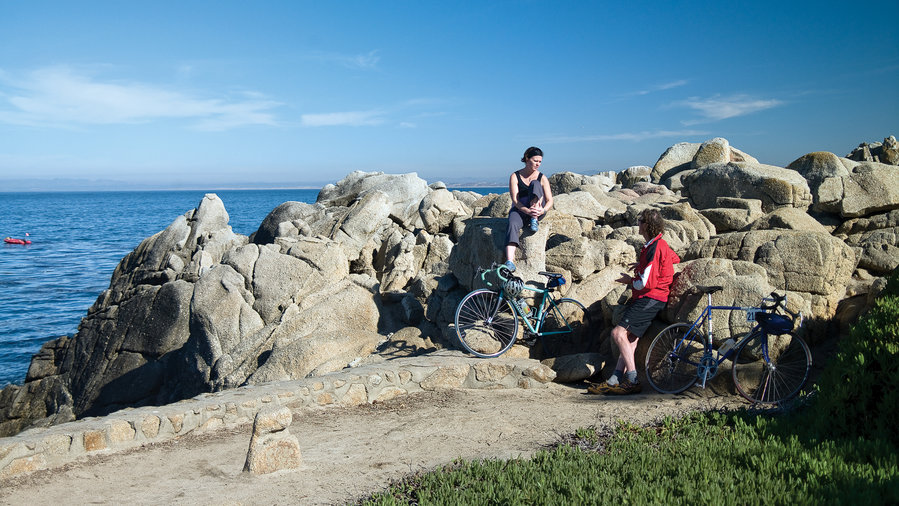 Start: Hop on to bike the coast