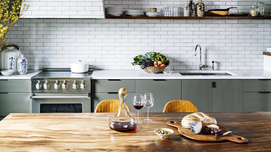 Portland Loft Kitchen