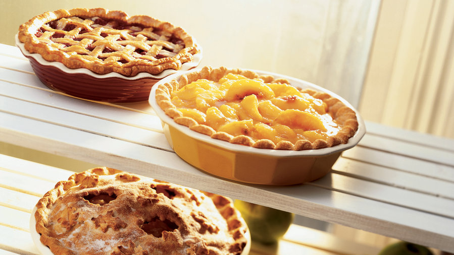 Rock Creek Lake Fresh Peach Pie (1012)