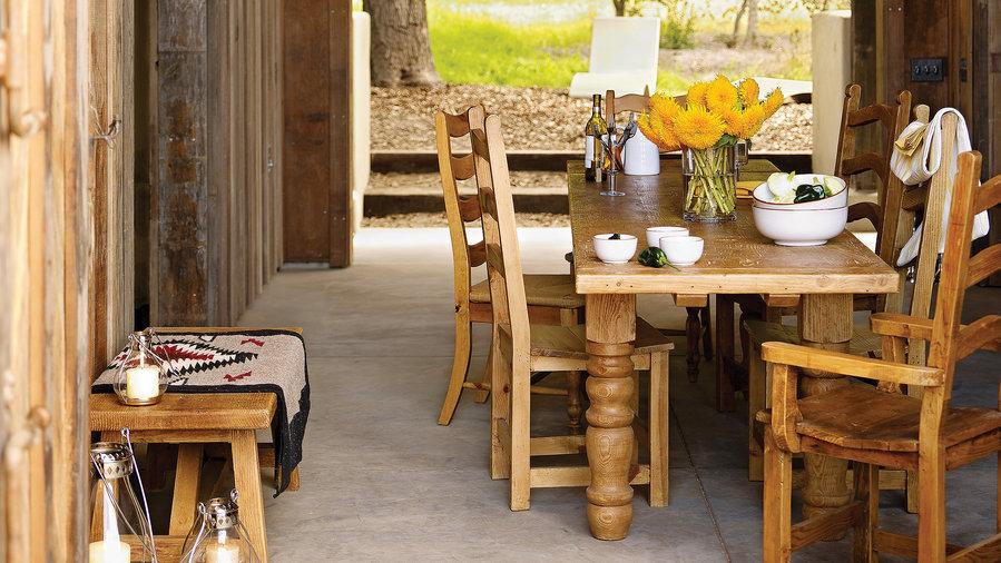 9 Gorgeous Reclaimed Wood Ideas - Sunset Magazine - Sunset Magazine